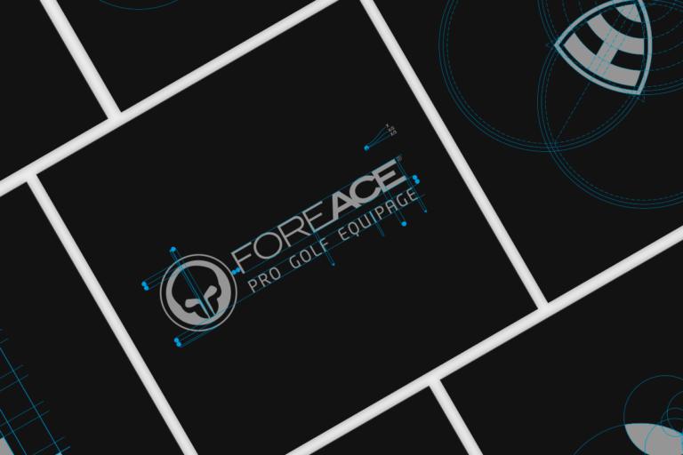 Collage mit Beispielen von Logo-Konstruktionen