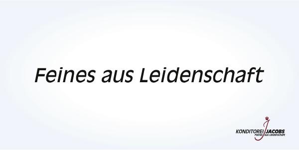 Konditorei-Jacobs-Claim: Feines aus Leidenschaft