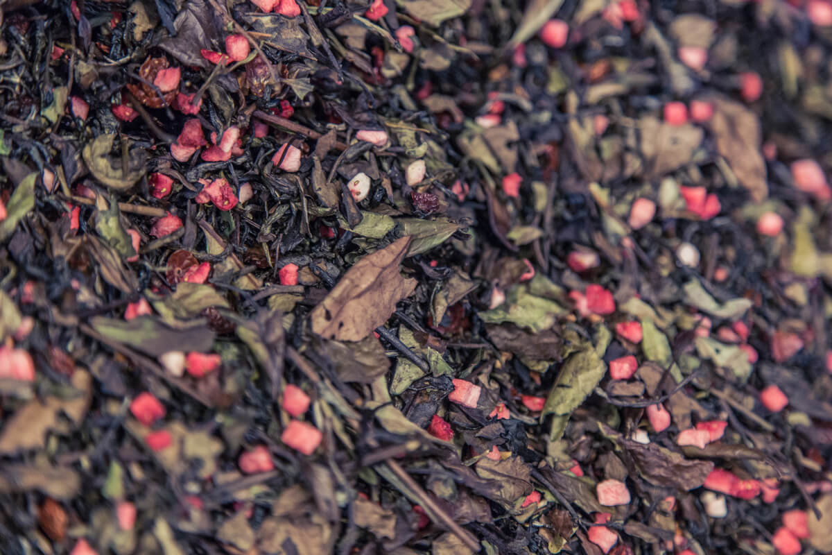 Makroaufnahme von Tee