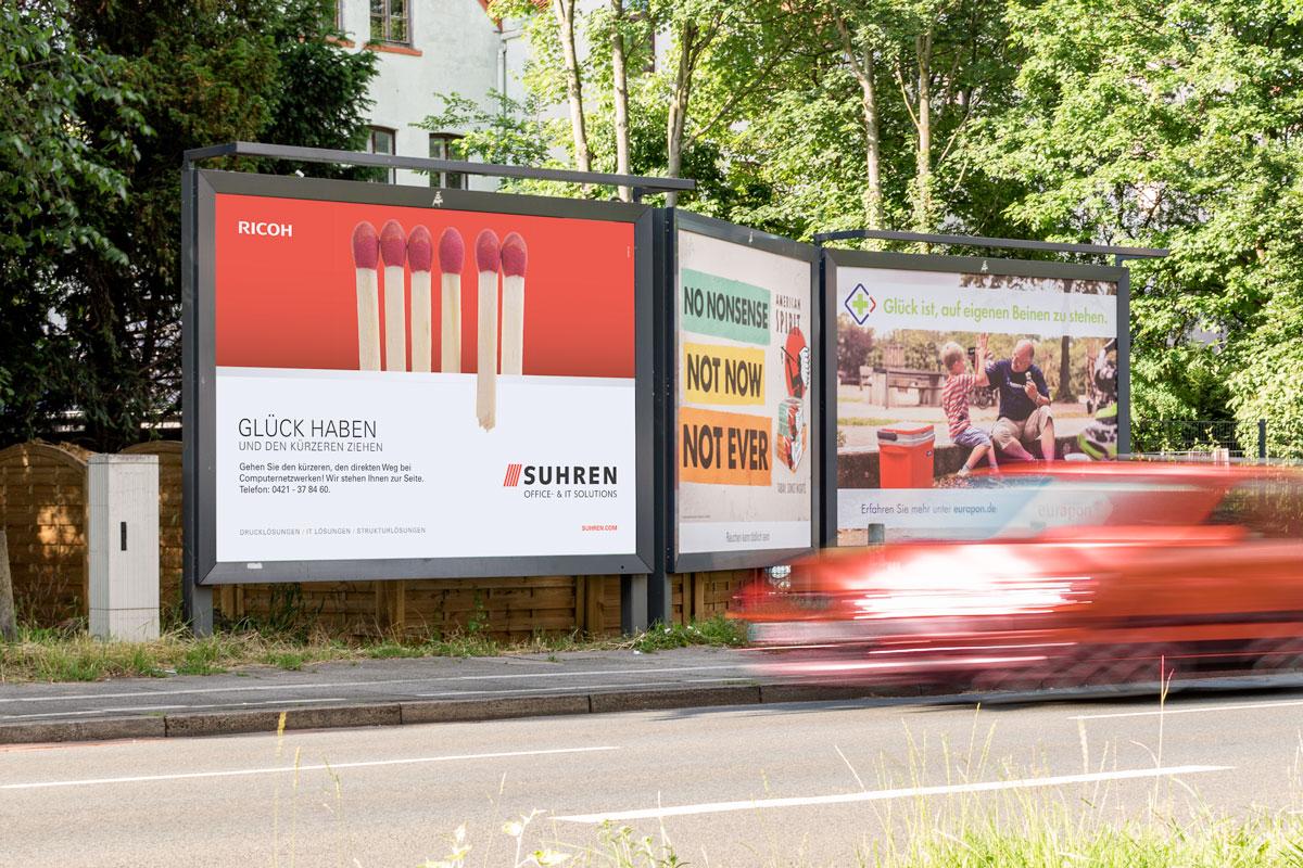 Suhren City-Light-Kampagne