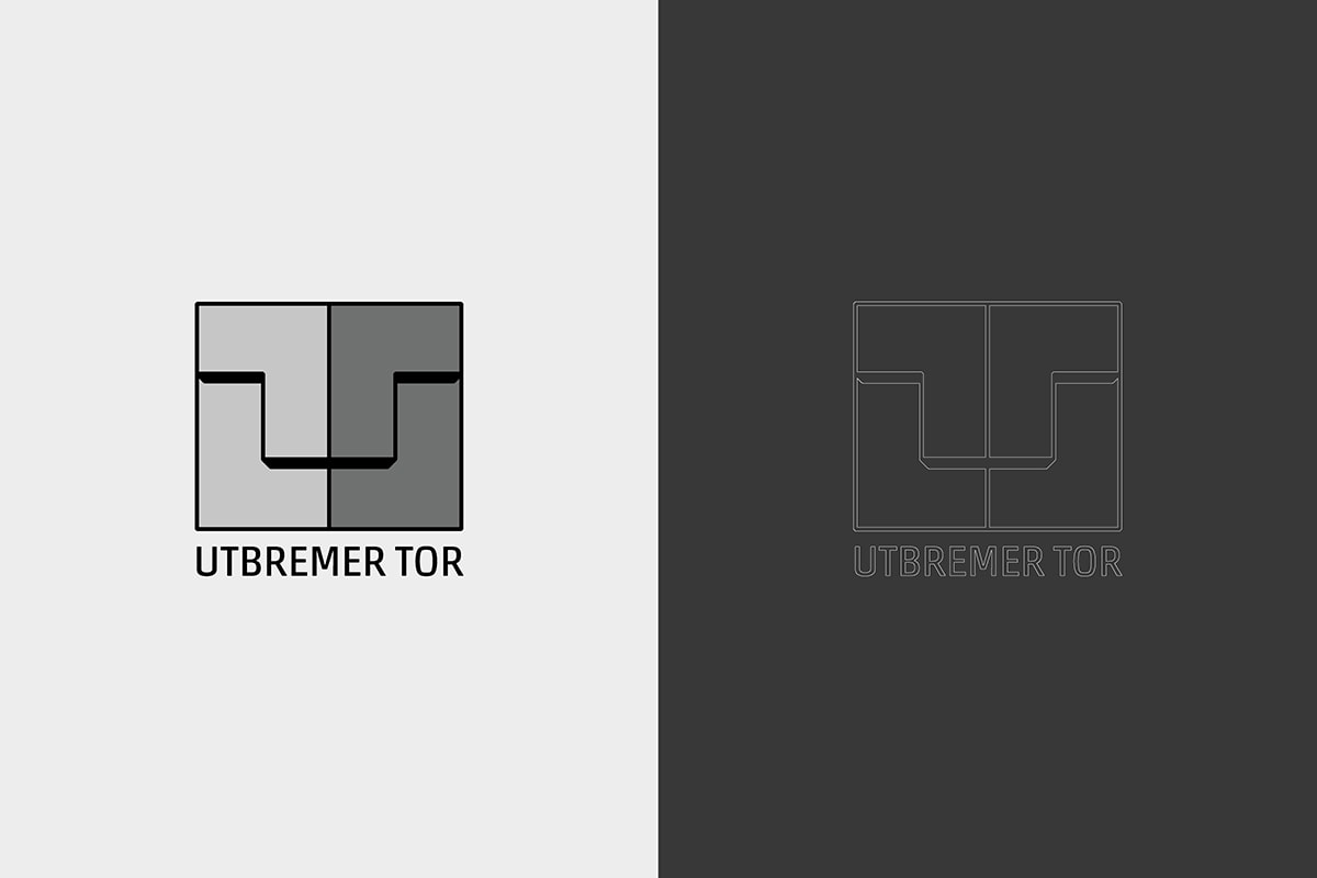 Logo-Design des Utbremer Tors