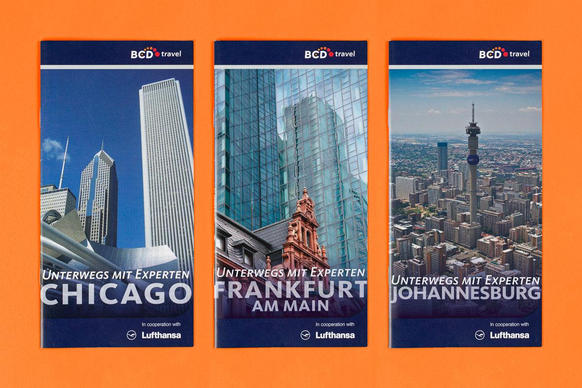 BCD Travel Destination Guides: Reiseführer für Chicago, Frankfurt am Main und Johannesburg