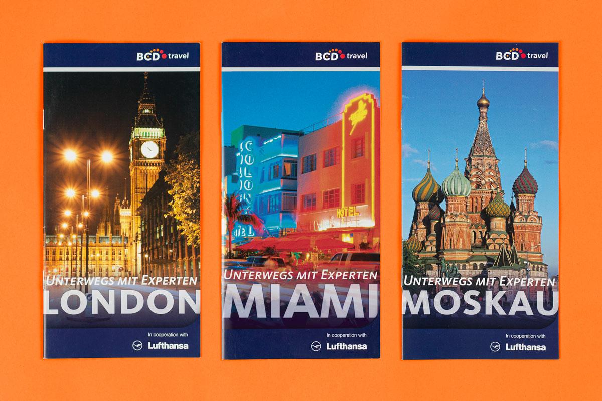 BCD Travel Destination Guides: Reiseführer für London, Miami und Moskau
