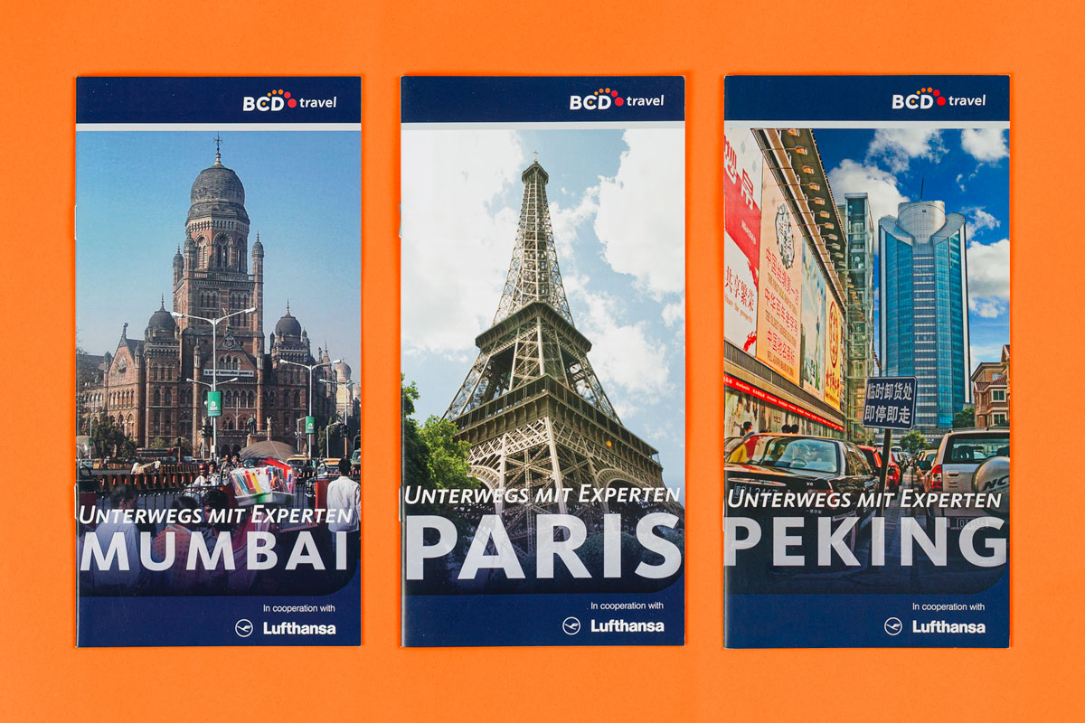 BCD Travel Destination Guides: Reiseführer für Mumbai, Paris und Peking