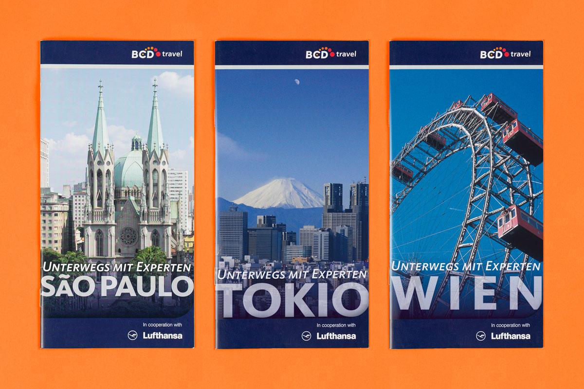 BCD Travel Destination Guides: Reiseführer für Sao Paulo, Tokio und Wien