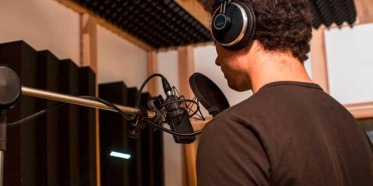 Tonaufnahme im Studio