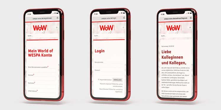Der Registrierungs- und Anmeldeprozess des World of WESPA Magazins