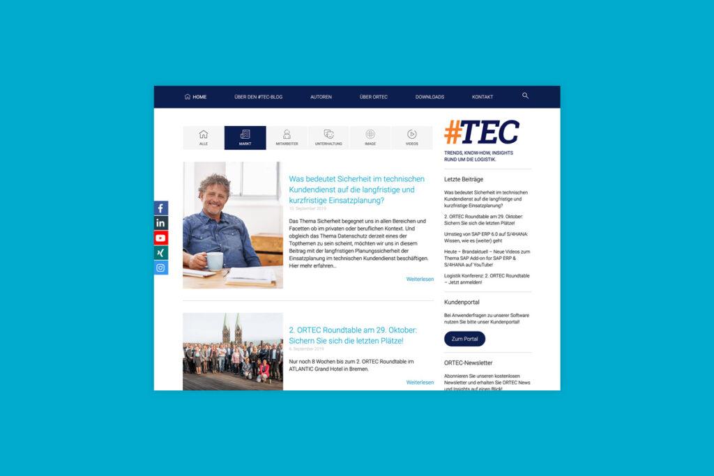 Themenbereich Markt ORTEC Blog