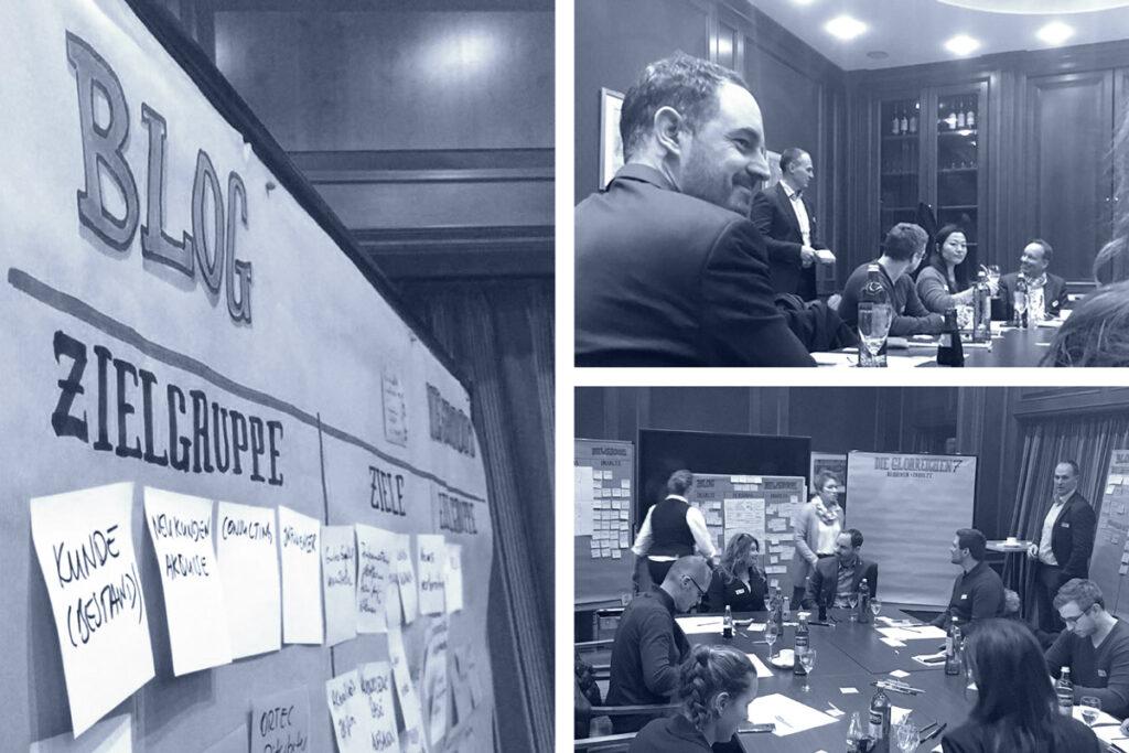 Impressionen vom ORTEC Blog Workshop