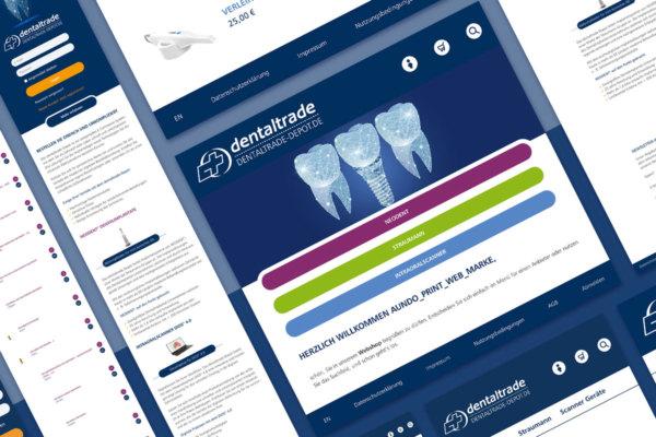 Bild Online-Shop für dentaltrade